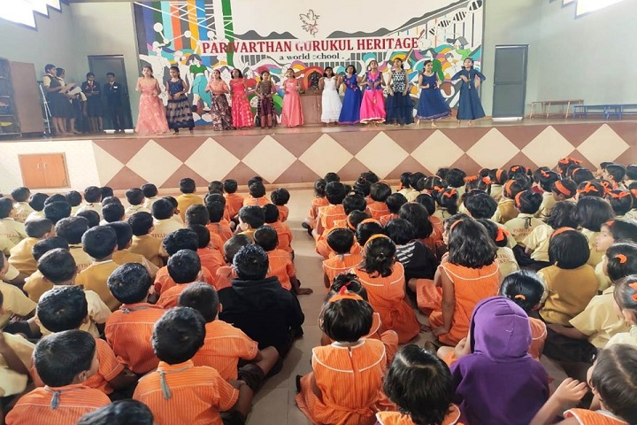 Parivarthan Gurukul Heritage English Medium School-Teachers Day Celebrations