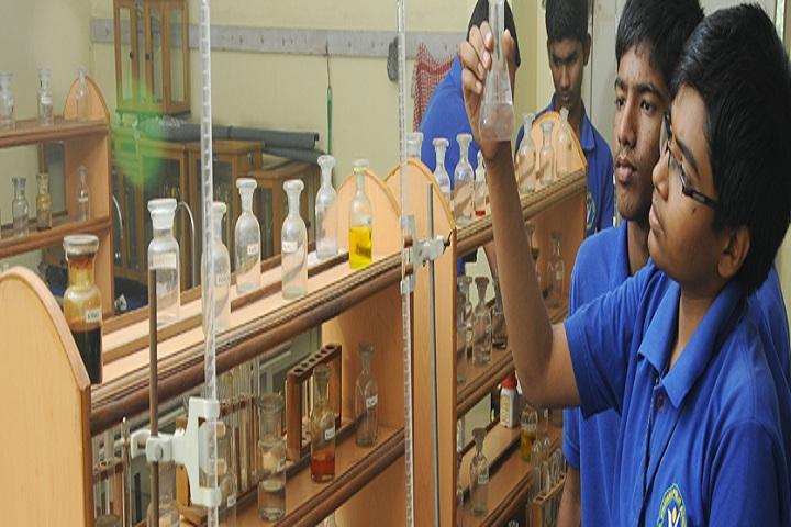 Vinayaka Public School-Chemsitry Lab
