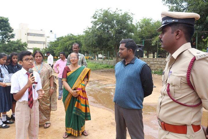 Bangalore International Public School-Fire Services Demo