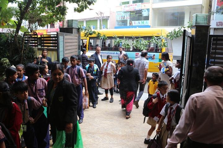 Bangalore International Public School-School Entrances