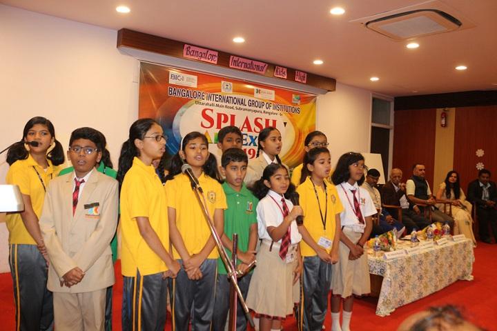 Bangalore International Public School-Singing
