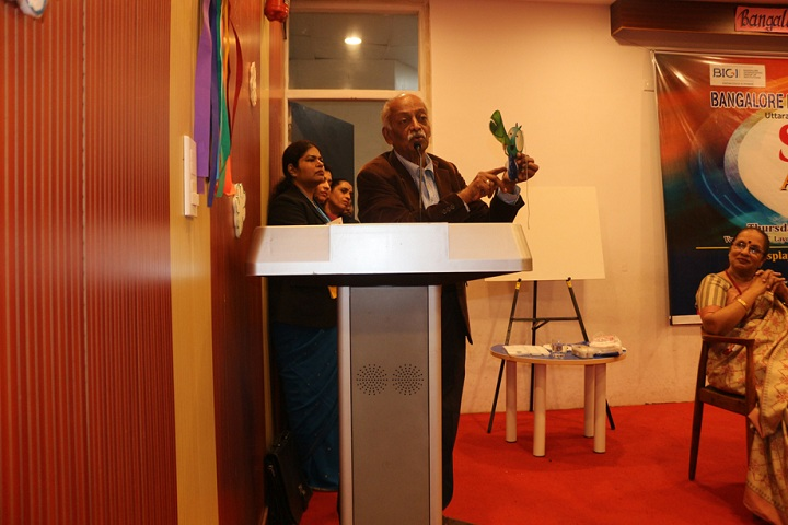 Bangalore International Public School-Speech