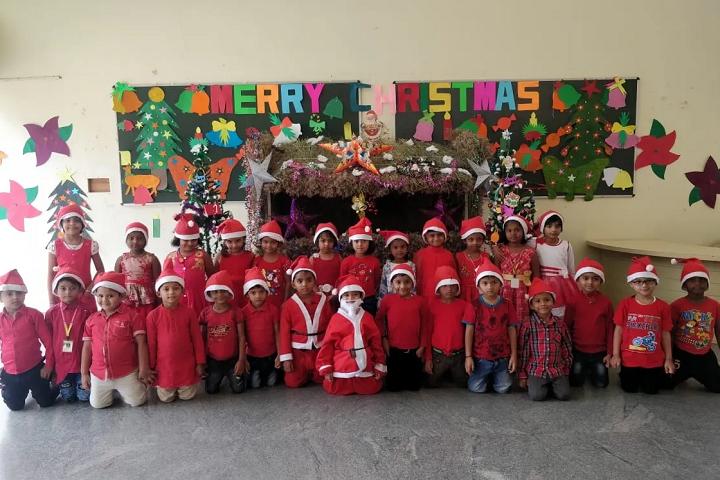 Anantha International School-Christmas