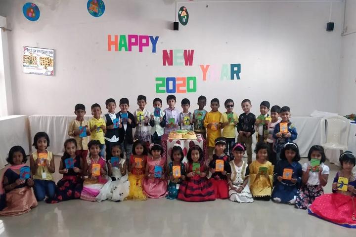 Anantha International School-Happy New Year