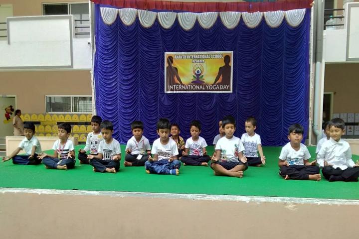 Anantha International School-Meditation