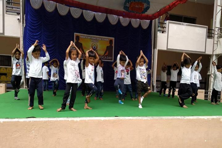 Anantha International School-Yoga