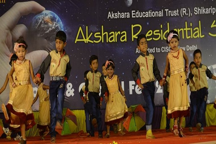 Akshara Residential School-Dance