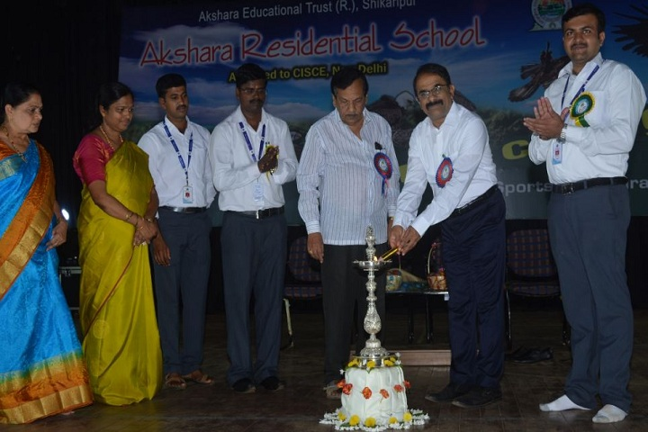 Akshara Residential School-Event Inaguration