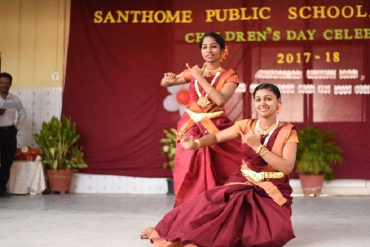 Santhome Public School-Dance