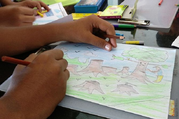 Santhome Public School-Drawing Competition