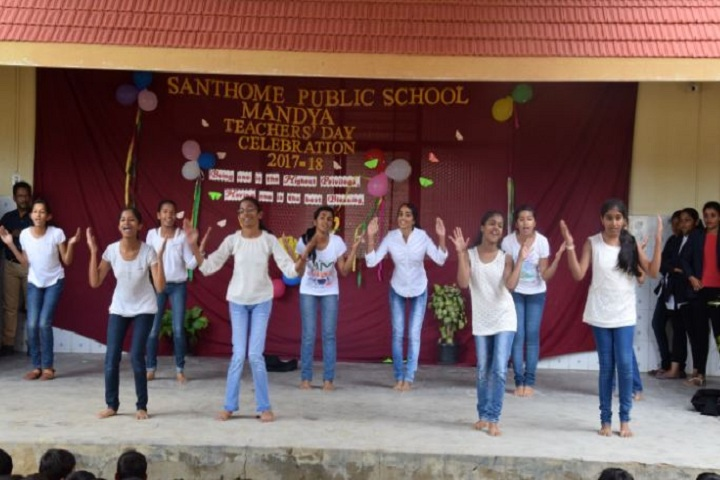 Santhome Public School-Teachers day Celebrations