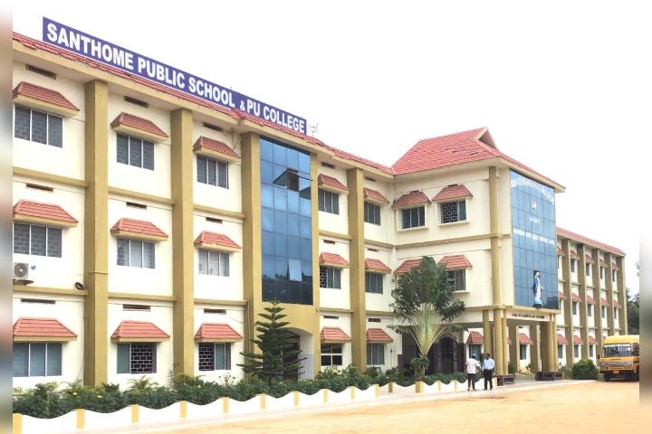 Santhome Public School - School Building