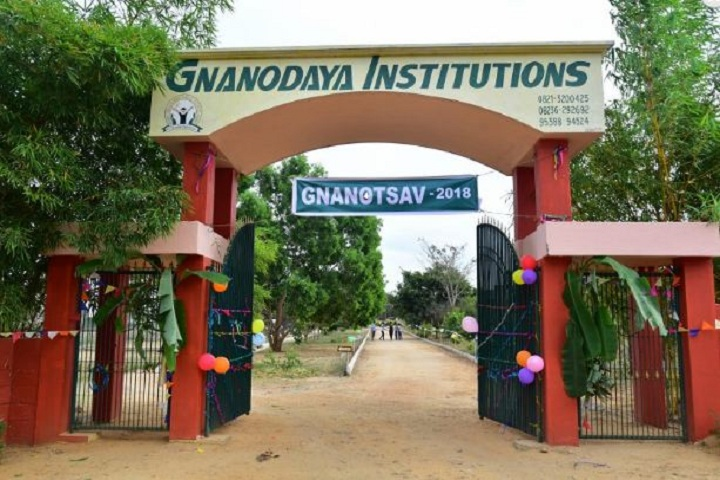 Gnanodaya Public School-School Entrance