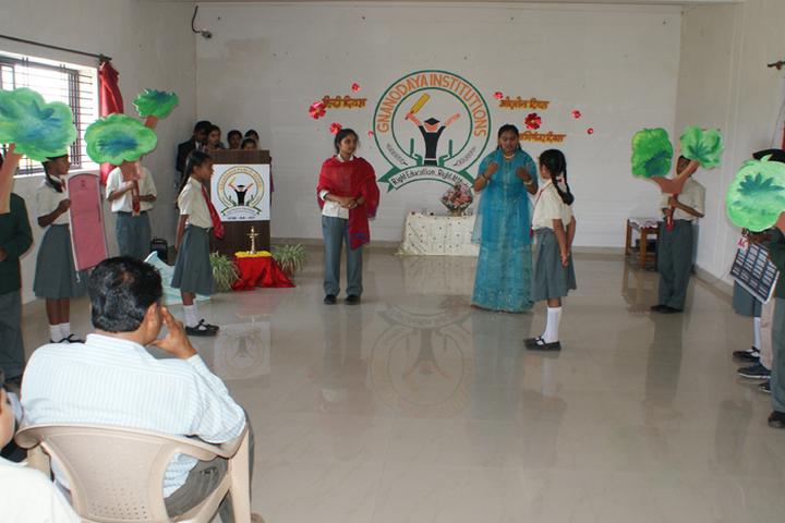 Gnanodaya Public School-Hindi Diwas