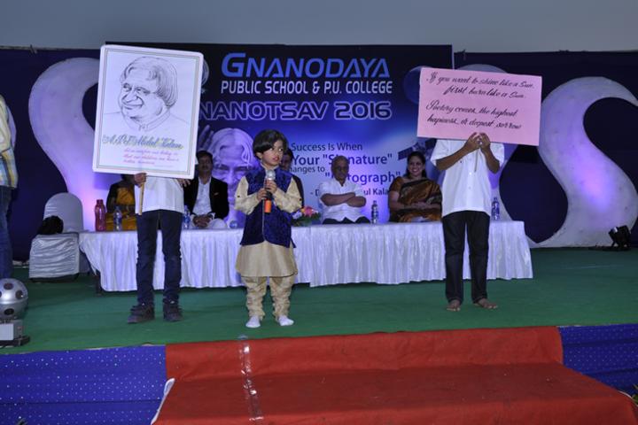 Gnanodaya Public School-Speech