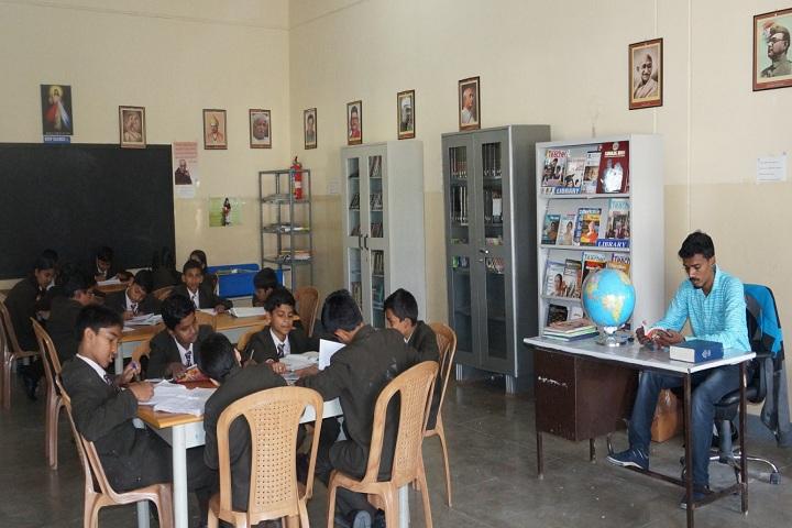 St Dominics School-Library