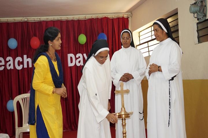 St Dominics School-Lighting The Lamp