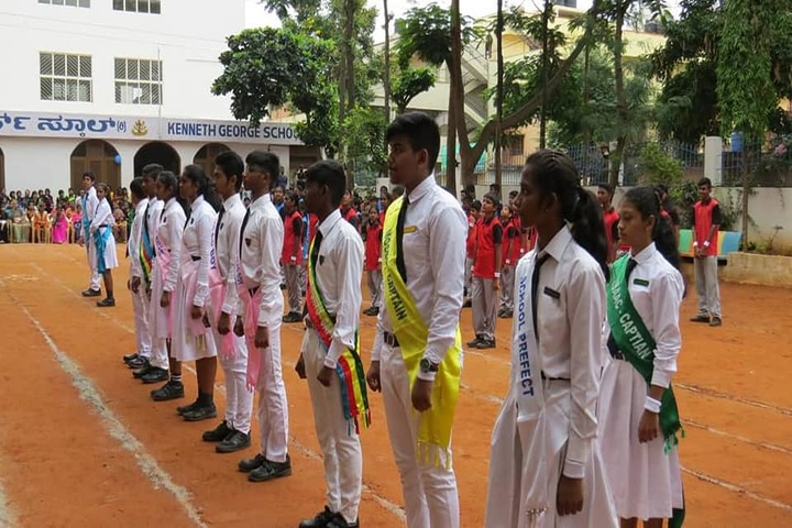 Kenneth George English School-Investiture Ceremony