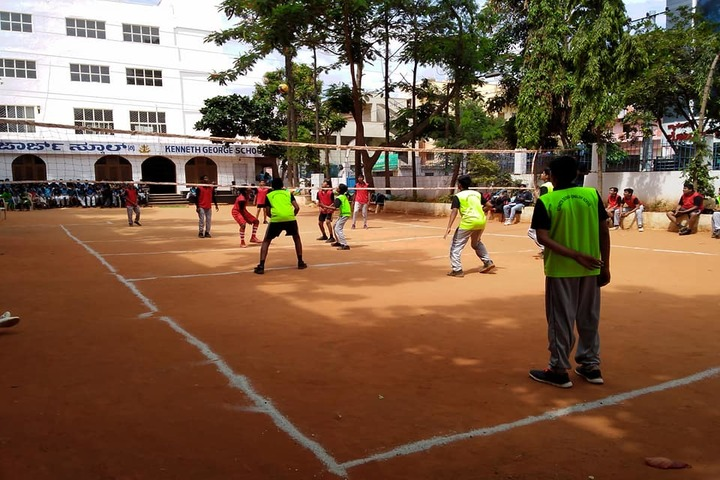 Kenneth George English School-Sports Vollyball