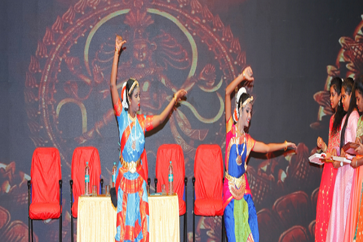 St James Matriculation Higher Secondary School-Classical Dance