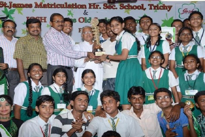 St James Matriculation Higher Secondary School-Prize