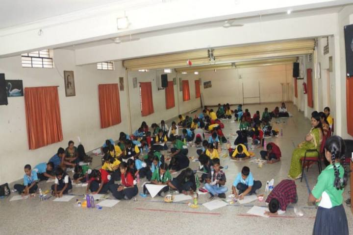 Aradhana School-Drawing Competition