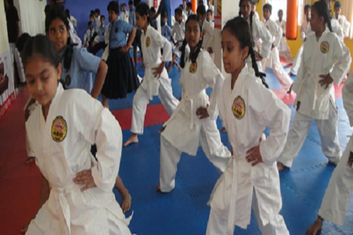 Aradhana School-Karate