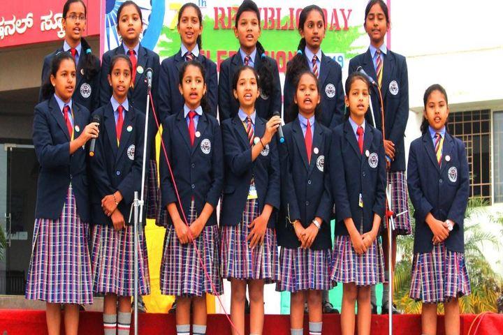 St Marys International School-Singing
