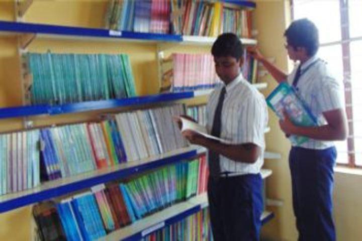 Triveni Public School-Library