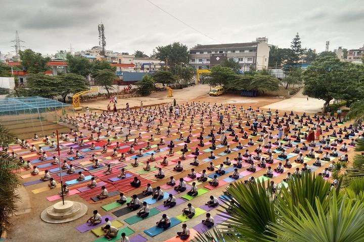 Triveni Public School-Yoga Day