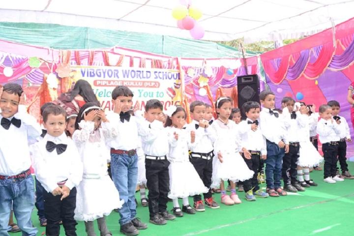 Vibgyor World School-LKG Students