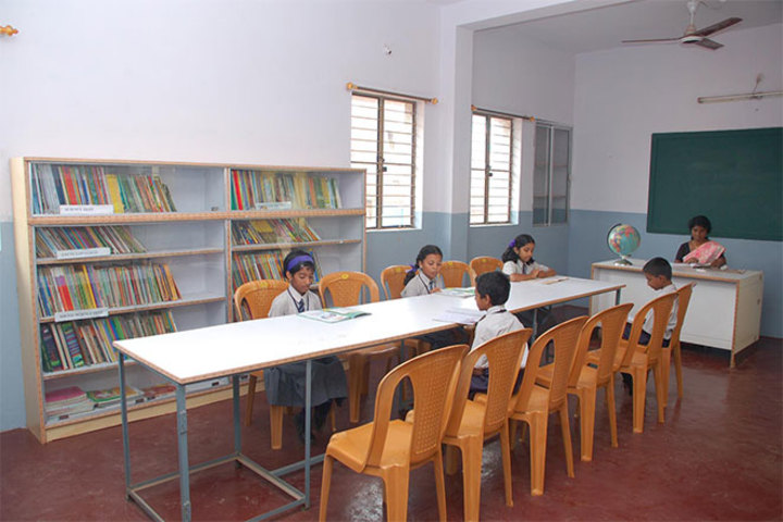 Oriental Primary And High School-Library