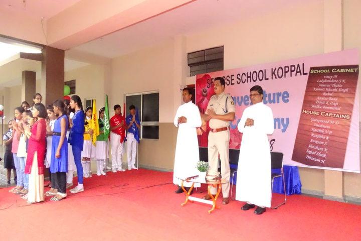 S F S Primary School-Investiture Ceremony