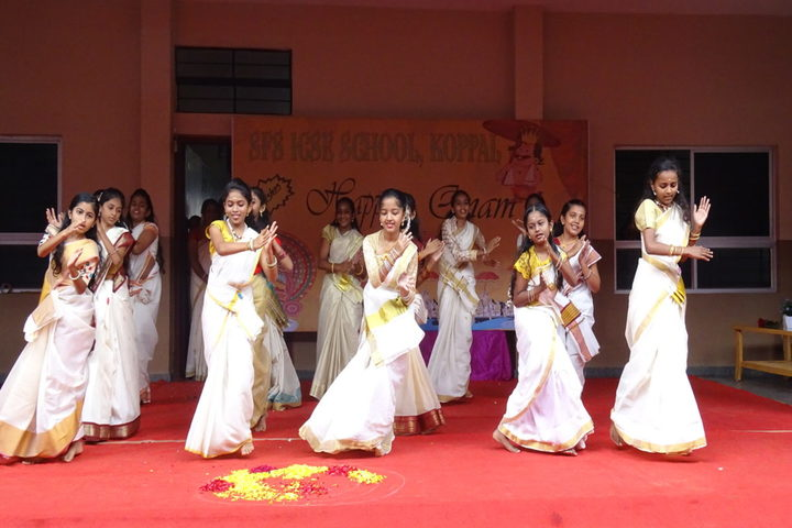 S F S Primary School-Onam Celebration