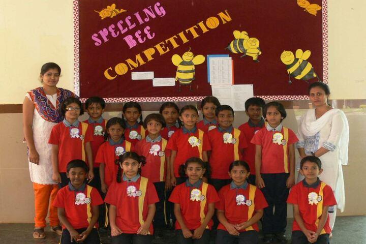 Anantha Vidyaniketana-Spell Bee Competition