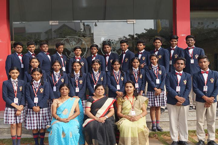 Nightingales English School Bengaluru-Class Photo