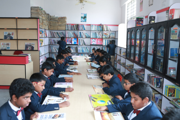 Nightingales English School Bengaluru-Library