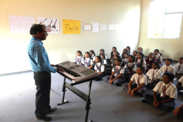 Nightingales English School Bengaluru-Music Room