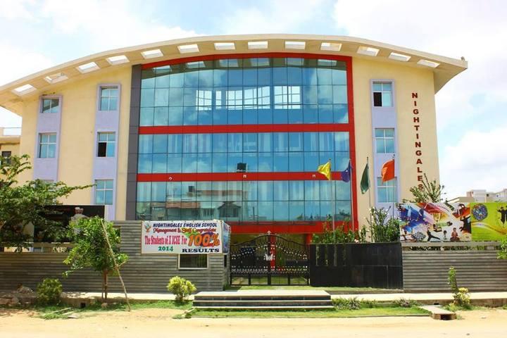 Nightingales English School Bengaluru-School Building