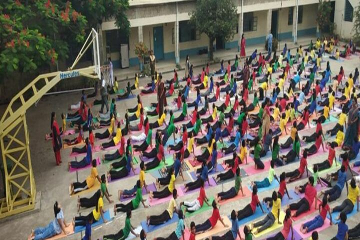 H A L Gnanajyoti School-Yoga Activity
