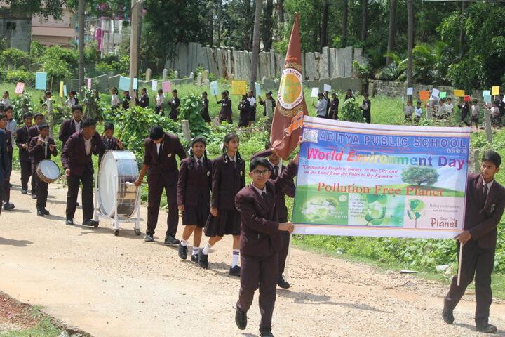 Aditya Public School-Rally