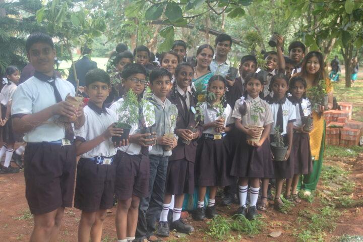 Aditya Public School-World Environment Day