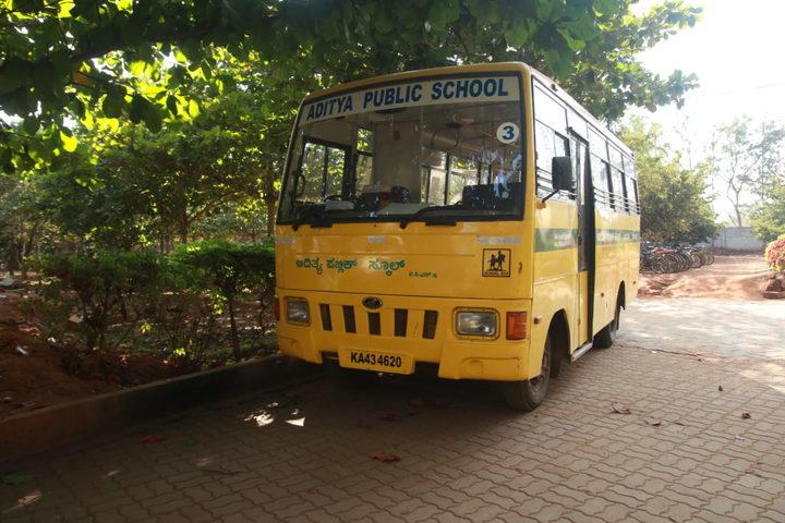 Aditya Public School Doddaballapur-Transport