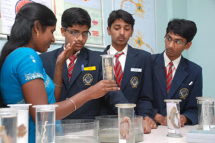 New Indus Valley Residential School-Biology Lab