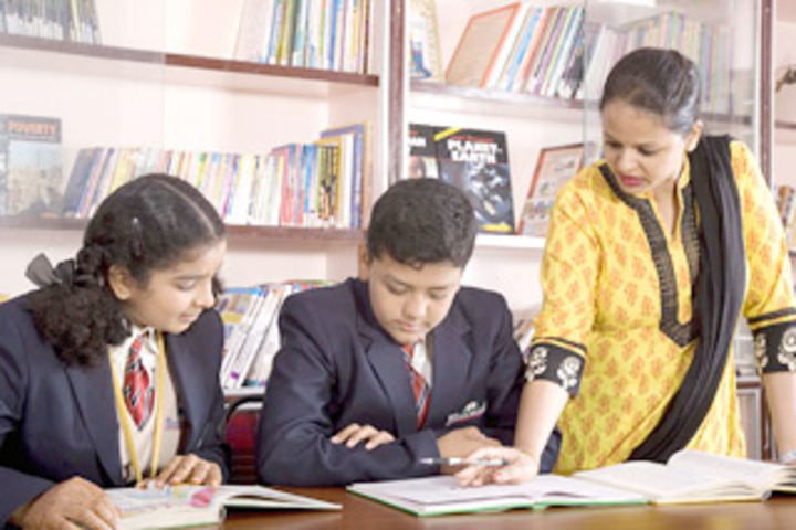 New Indus Valley Residential School-Library