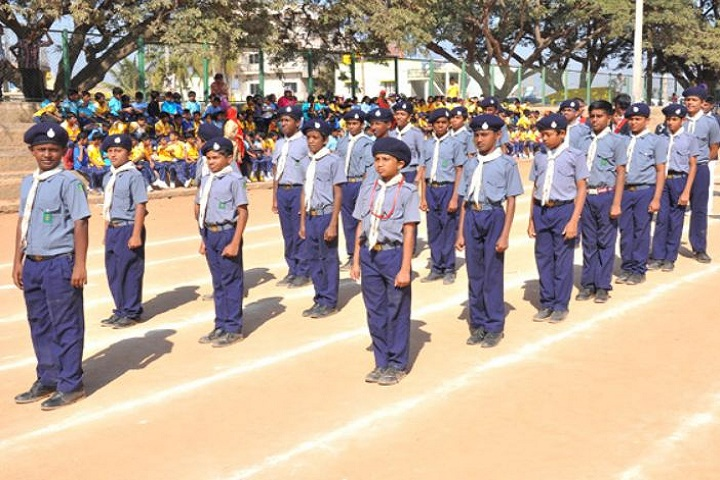 New Indus Valley Residential School-Scouts And Guides