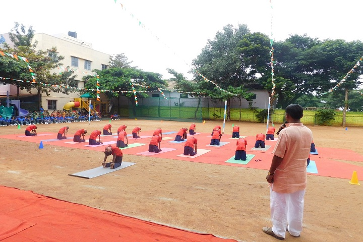 Federal Public School-Yoga Activity