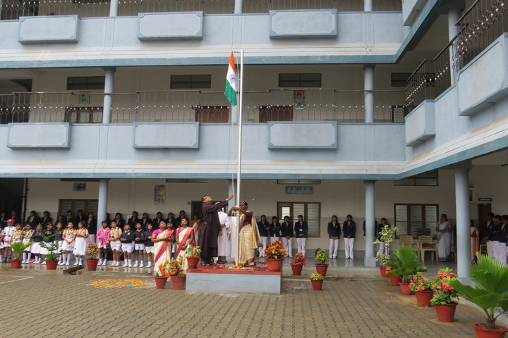 Flos Carmeli Convent School-Indepedence Day