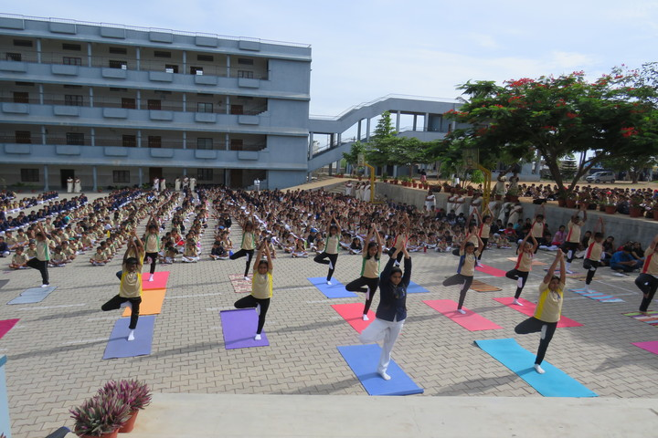 Flos Carmeli Convent School-International Yoga Day