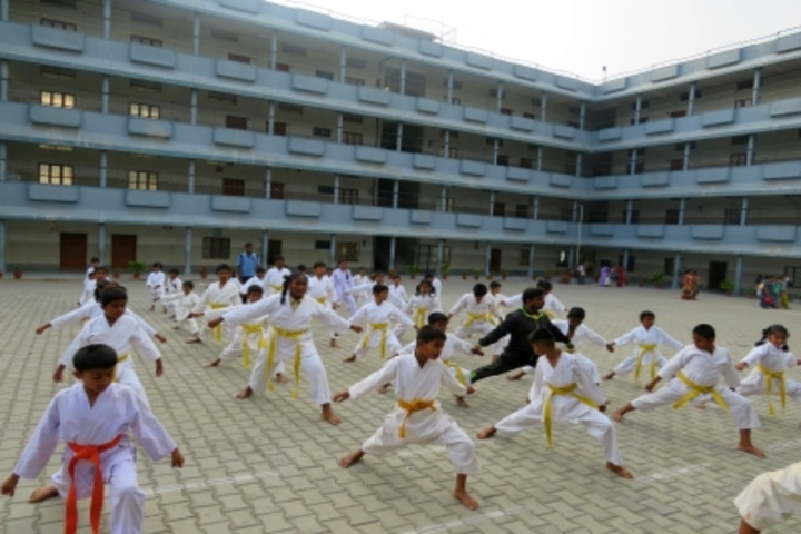 Flos Carmeli Convent School-Karate Classes